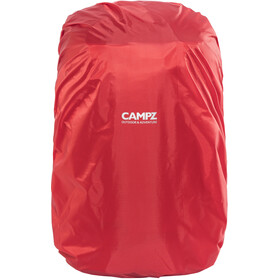 CAMPZ Rucksack Regenschutz L 30-55l rot
